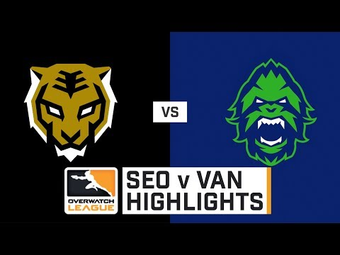 HIGHLIGHTS Seoul Dynasty vs. Vancouver Titans | Stage 1 Playoffs | Day 3 | Overwatch League thumbnail