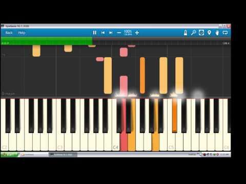 Tak Lekang Oleh Waktu  - Kerispatih | Piano Tutorial  Synthesia
