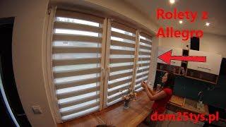 Kupujemy Rolety z Allegro dzień/Noc   Kuchnia za 1650 zł   Dom bez pozwolenia   dom25tys  #pawełwaga