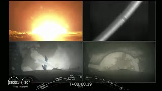 Touchdowns! 2 SpaceX Falcon Heavy Boosters Land, 1 Fails
