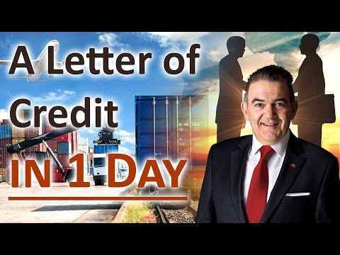 How to open a Letter of Credit in 1 Day with Swiss Banks