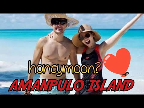 Sarah and Matteo Guidicelli - HONEY MOON @ AMANPULO ISLAND with Doc Vicky Belo