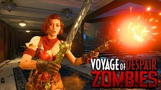 VOYAGE OF DESPAIR - ROUND 40+ HIGH ROUNDS  GAMEPLAY (Black Ops 4 Zombies Gameplay)
