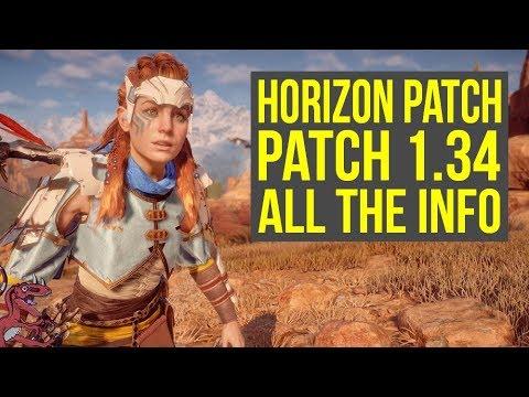 Horizon Zero Dawn Update 1.34 WHAT DOES IT DO?! (Horizon Zero Dawn 1.34 - Horizon 1.34)