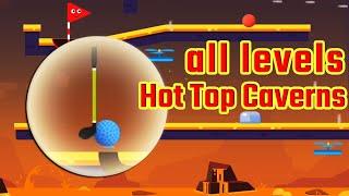 Happy Shots Golf Chapter 4 Hot Top Caverns Level 55-72