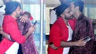 Ranbir Kapoor & Ranveer Singh HUG like Deepika Padukone is NOT WATCHING