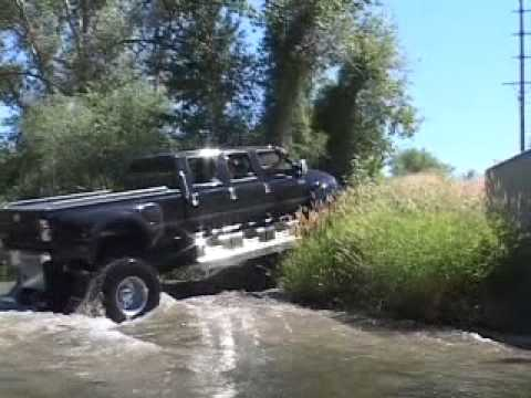 4x4ing in an Extreme F650 Supertruck