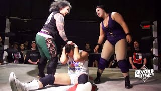 [Free Match] Team PAWG (Jordynne Grace & LuFisto) vs. AΣΣ | Beyond Wrestling (Intergender Mixed Tag)