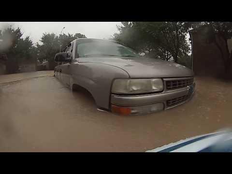 Flood in Katy, Texas - Hurricane Harvey (08/28/2017)