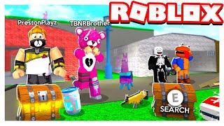 ROBLOX 2 PLAYER FORTNITE TYCOON mit MEINEM LITTLE BROTHER!