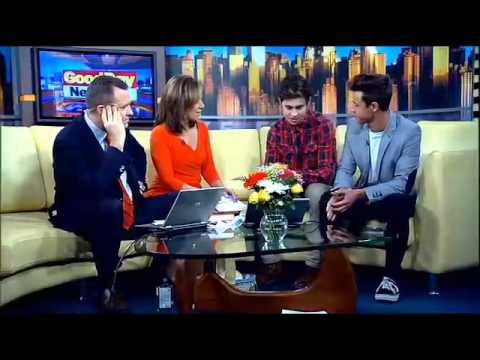Cameron Dallas & Nash Grier on Fox 5's Good Day New York (5/1/14)