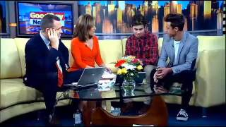 cameron dallas nash grier on fox 5 s good day new york 5 1 14