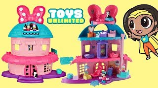 Minnie Mouse Happy Helpers Home Sweet Headquarters HQ Deluxe Playset