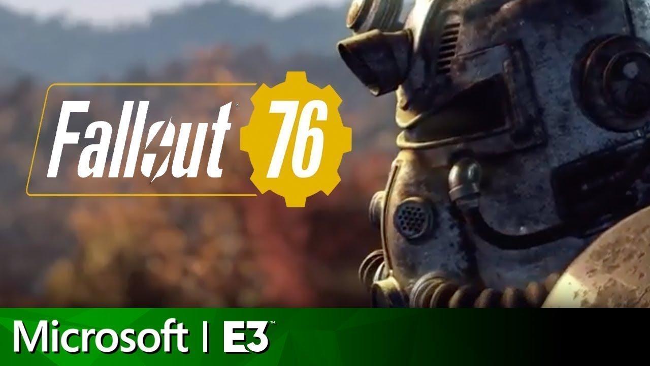 Fallout 76 ITA Trailer 2 E3 Conferenza Microsoft