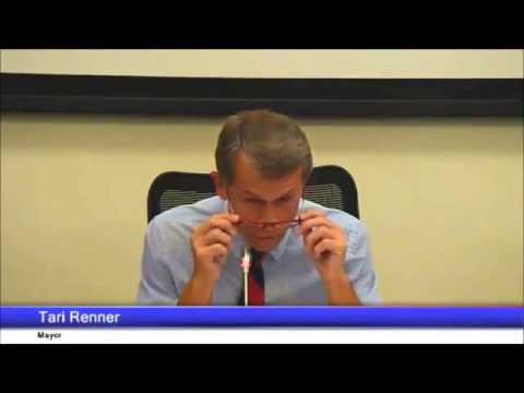 Renner sets the public comment rules