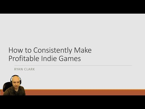 How to Consistently Make Profitable Indie Games