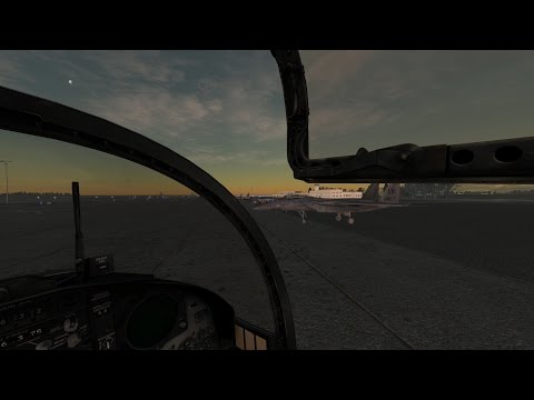 Crossing the map | DCS: World [F-15]