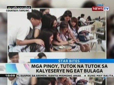 Mga Pinoy, tutok na tutok sa kalyeserye ng Eat Bulaga