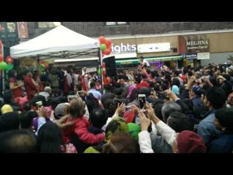 NYC celebrating Bangla Noboborsho 1422