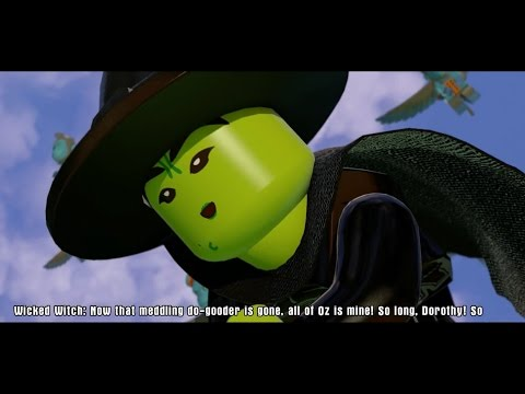 LEGO The Wizard Of Oz All Cutscenes Dimensions