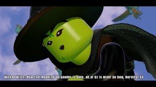 LEGO The Wizard Of Oz Full Movie All Cutscenes Dimensions