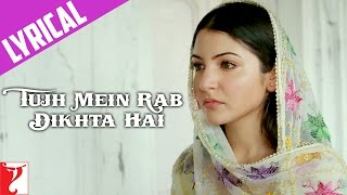 lyrical tujh mein rab dikhta hai female version song with lyrics rab ne bana di jodi