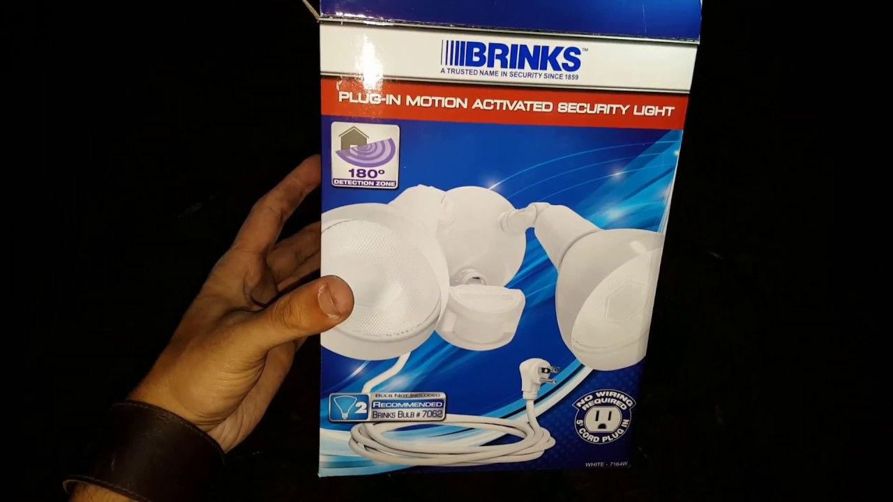 brinks motion sensor light plug in no hard wiring youtube rh youtube com Electrical Wiring Junction Box Home Wiring Light Switch