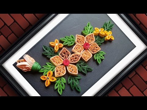 Quilling Designs | Wall Decorating Ideas | DIY Paper Crafts | HandiWorks #61