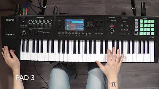 ROLAND cover project soundpack VOL .1 for FA and Juno-DS series