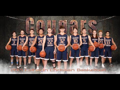 Calhoun Christian School Boys Varsity Basketball vs St. Philip Catholic from 23-Mar-21
