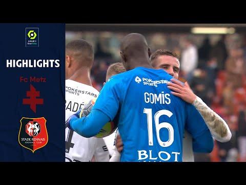 Metz Rennes Goals And Highlights
