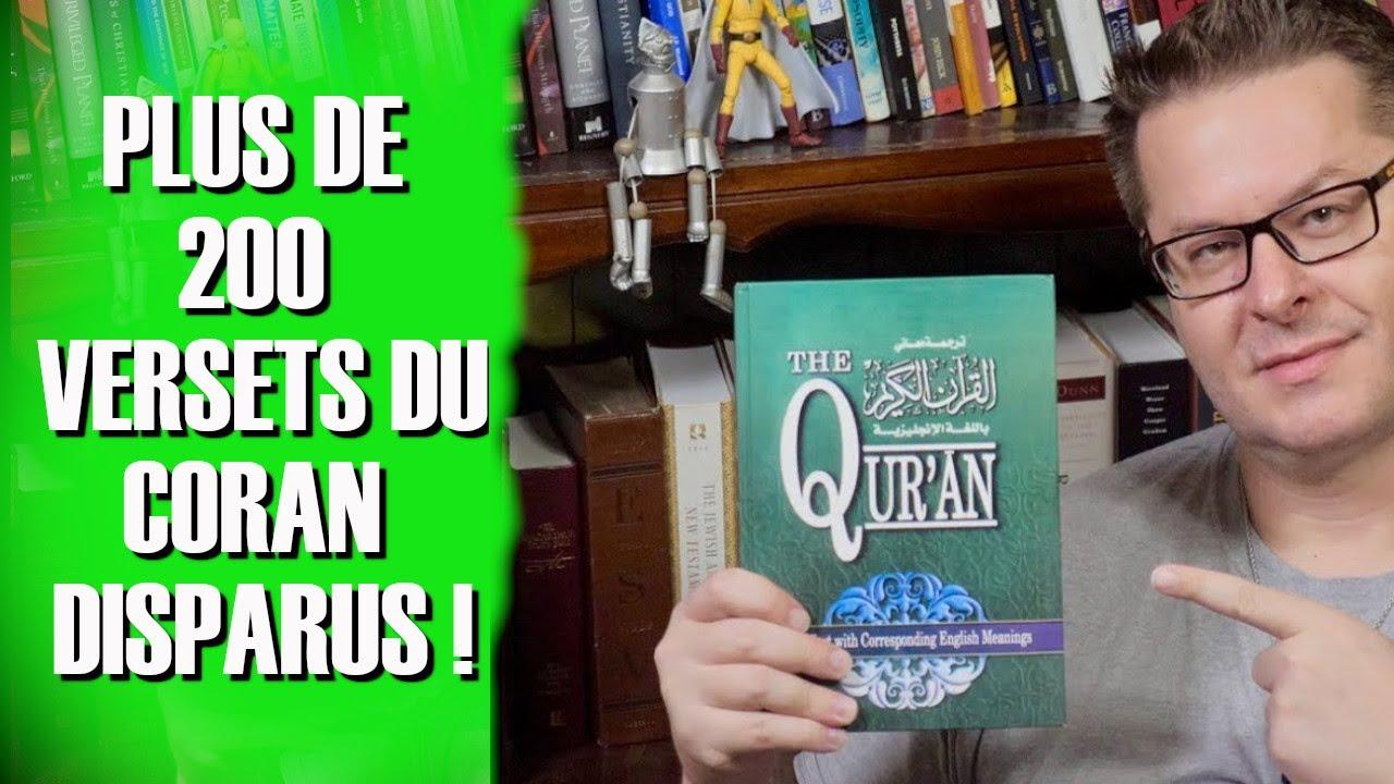 Coran +200 versets ont disparu dans un chapitre du Coran! David Wood en français