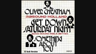 Oliver Cheatham - Get Down Saturday Night (12 inch) 1983 HQ