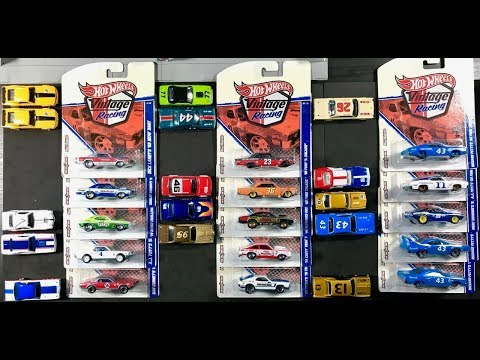 Lamley Showcase: Opening - and completing - Hot Wheels Vintage Racing