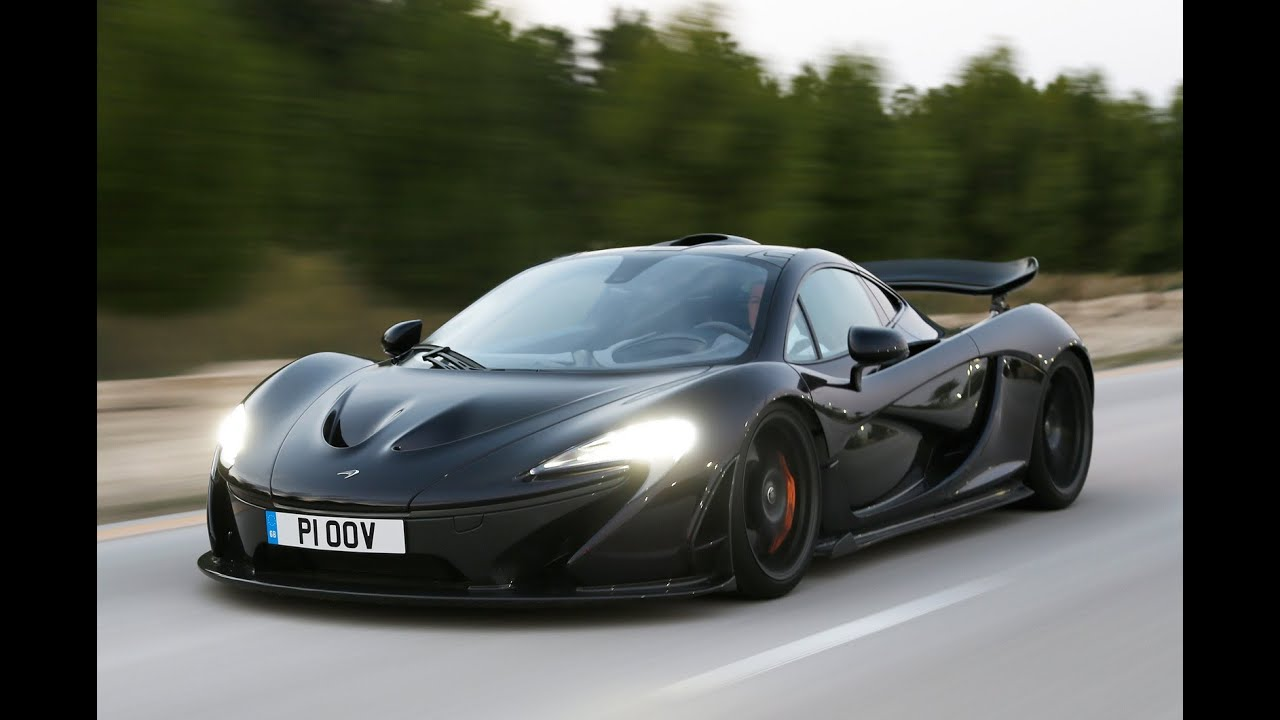 McLaren P1 flat out action video - YouTube