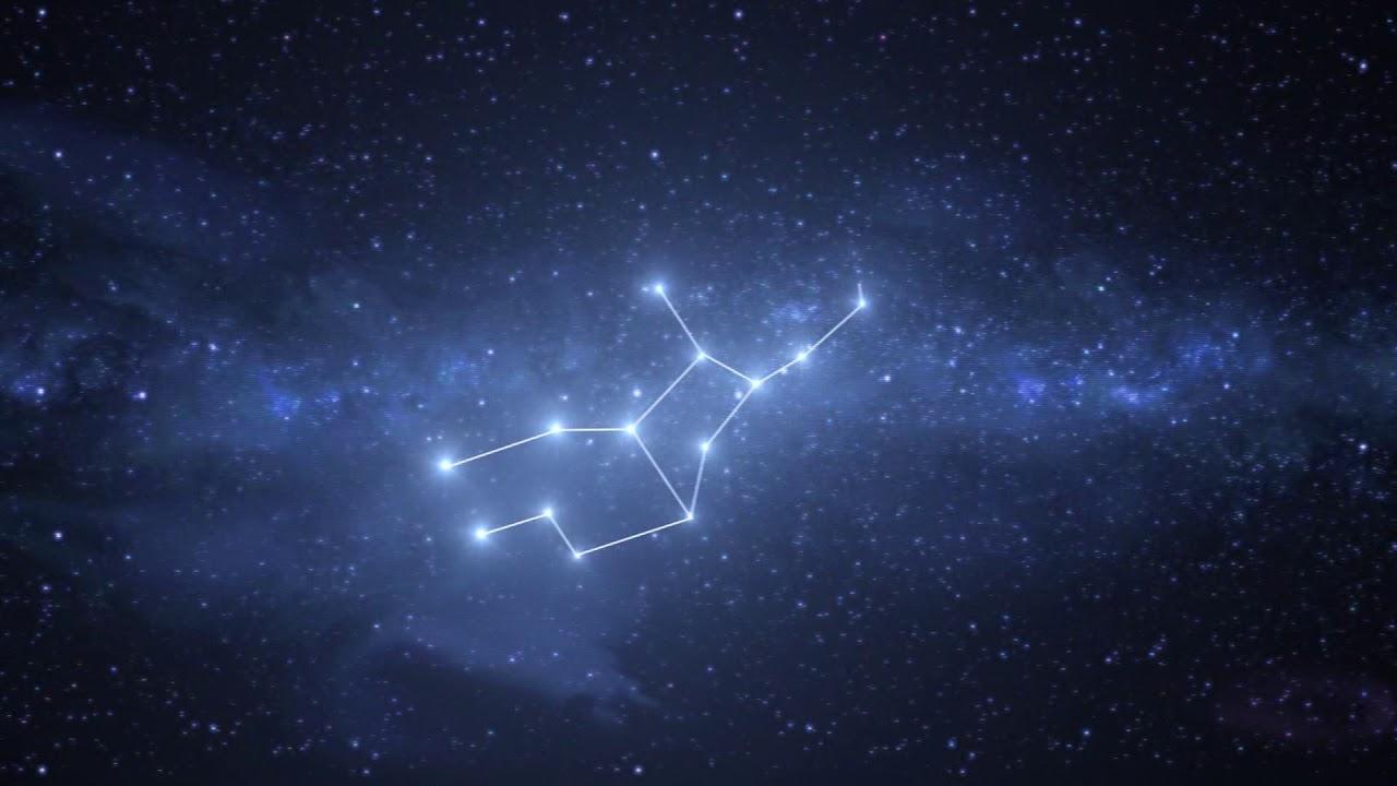 Virgo Constellation / Zodiac - Free motion graphics - YouTube