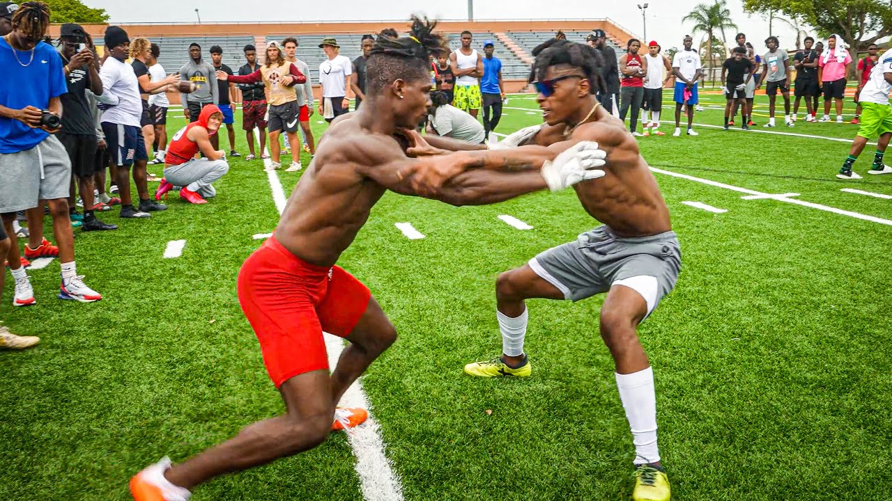 Download THE BEST ATHLETES IN FLORIDA WENT CRAZY DURING 1ON1'S!! (WINNER GETS $1000)