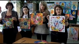 Мастер-класс по искусству батика в лицее им. М.Греку (в рамках проекта StarArt) 1ч.