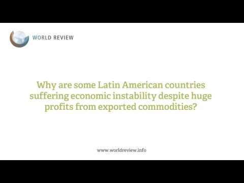 ASK THE EXPERT: Latin American commodity crisis - the good, the bad and the ugly