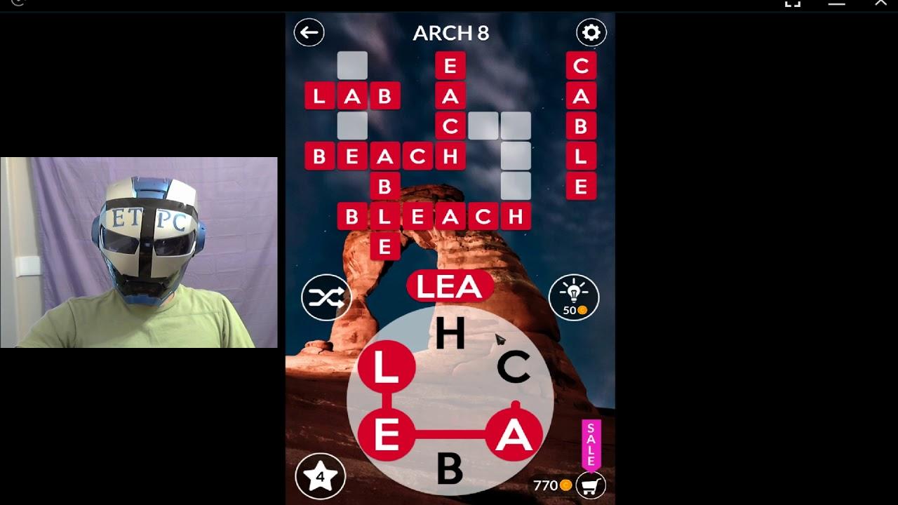 Wordscapes Arch 8 Answers Masaya Ang Mga Salita Youtube
