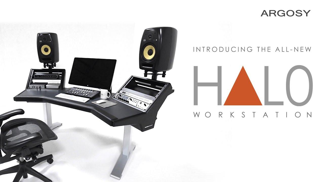 Argosy Console\'s All-New Halo Workstation - YouTube