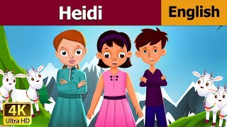 Heidi in English | English Story | Fairy Tales in English | Bedtime Stories | English Fairy Tales