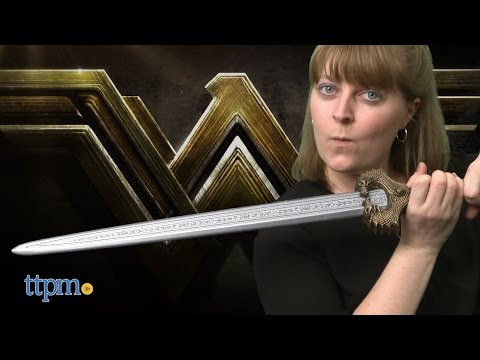 Wonder Woman Battle-Action Sword from Mattel