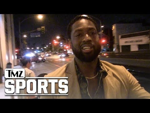 Dwyane Wade All Smiles Addressing Potential Miami Heat Return   TMZ Sports
