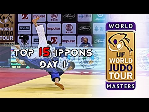 Top 15 Ippons In Day 1 Of World Judo Masters Qingdao 2019