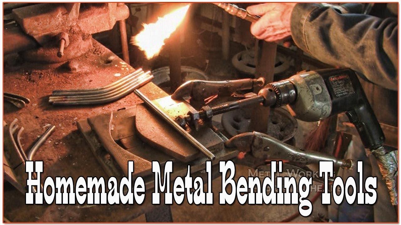 Homemade metal bending tools