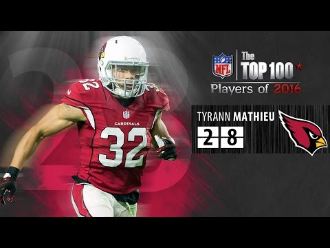 #28: Tyrann Mathieu (S, Cardinals) | Top 100 NFL Players of 2016