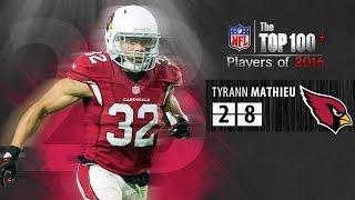 #28: Tyrann Mathieu (S, Cardinals) | Top 100 NFL Players of 2016