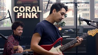 Coral Pink - Past Life // People I've Known | LES CAPSULES live performance