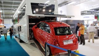Camping-cars de luxe, fourgons et vans aménagés au salon VDL du Bourget